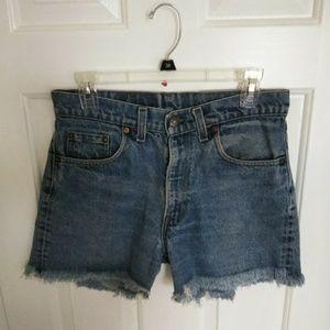 Levi's Shorts - Vintage Levi's High Waisted Denim Shorts